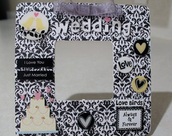 Wedding /Marriage/ Black &White /Proposal /Picture frame