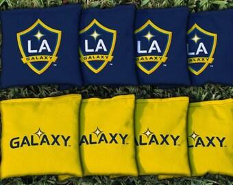 LA Galaxy Cornhole Bags - MLS Licensed
