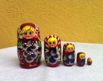 Nesting dolls, Matryoshka #4