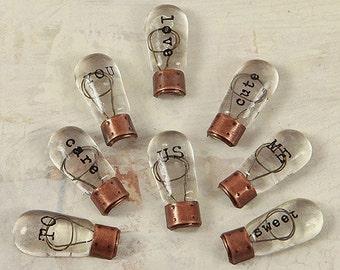 Prima Junk Yard Finding Vintage Light Bulbs