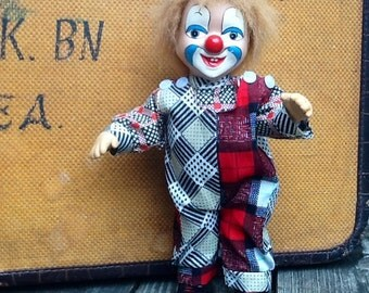 Posable Happy Clown Doll