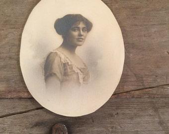 Antique Photograph of Woman