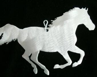Running Horse Ornament