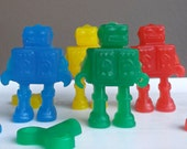 Robot Party Favors - Robot Birthday, Robot Party, Sci Fi Party, Outer Space Party, Robot Baby Shower - Set of 10