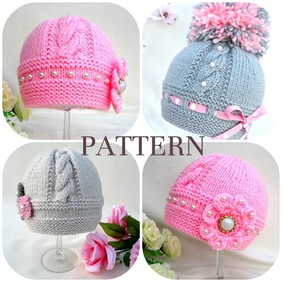 Free Xmas Knitting Patterns For Babies : Preemie hats knitting patterns special for your little one