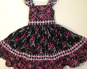 Paris Princess ~ Flutter Sleeve   Size 6-10