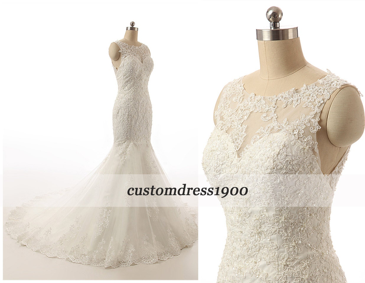 Ivory Crepe Open Back Wedding Dress And Handmade: Cap Sleeve Handmade Appliqued Tulle Sexy Open By