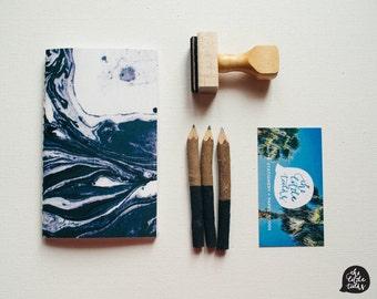 Marble Jotter I - Handbound Jotter, Notebook, Journal