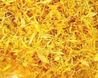2 Cups Calendula Petals (0.65 oz. -- it's super light and fluffy!) ***FREE SHIPPING***