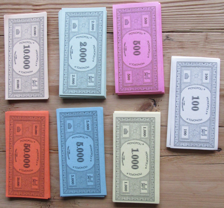 wie viel geld bei monopoly