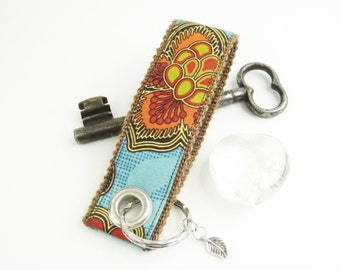 Women Keychain retro