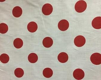 ArtOFabric Decorative Cotton in Polka Dots Print Tablecloth