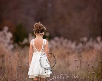 flower girl dress  flower girl dress girls lace dress lace dress toddler lace dress boho flower girl dress flower girl dress lace