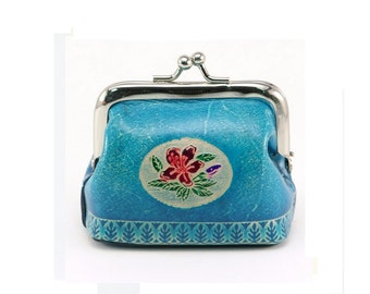 Leather Coin Purse /  Wallet Coin Purse /  Change Purse