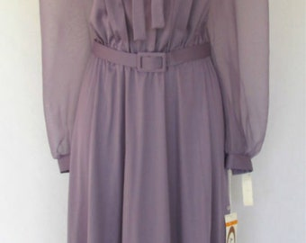 Amy-Deb Purple 1960's Dress