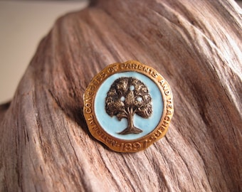 1897 Vintage Pin: National Congress of Parents and Teachers