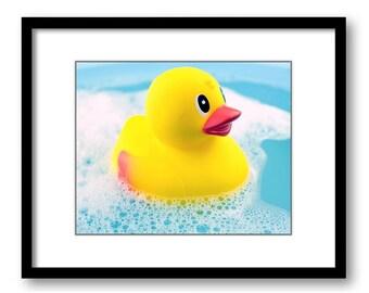 rubber duck bathroom etsy. Black Bedroom Furniture Sets. Home Design Ideas