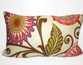 Decorative 12x16 BHG Bright Floral Pillow Case Cover