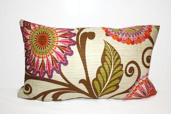 Decorative 12x16 BHG Bright Floral Pillow Case Cover