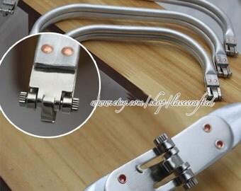 """1 Pc 20cm/7.87"""" 24cm/9.45"""" 30cm/11.8"""" aluminous tubular internal hinge Bag frame purse frame handbag frame"""