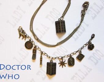 Doctor Who  Charm Bracelet