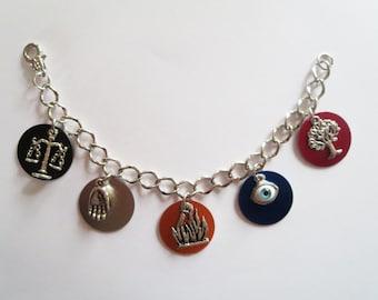 Faction Charm Bracelet