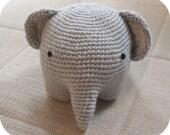 Cute Amigurumi Elephant Toy