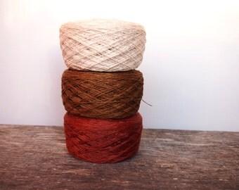 10% OFF 3 Balls, Natural Linen Yarn, High Quality, Linen Yarn For Crochet, Knitting, 300 g/10.5 oz
