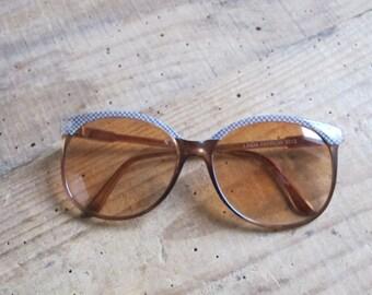 80s Linda Farrow vintage sunglasses   // ladies // collectible