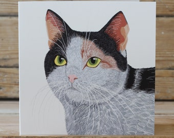 Smartie Cat  - Greeting card