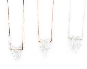 Tiny Quartz Necklace