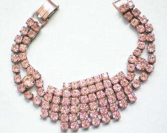 Glitzy Rhinestone Bracelet - 3496