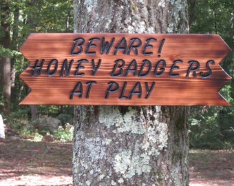 Garden Sign, Personalized Wood Garden Sign, Handmade Wood Sign, Custom Sign, Rustic Sign, Indoor-Outdoor Sign, Hand Crafted Wood Garden Sign