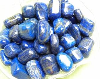 Lapis Lazuli.Direct From Kabul Mines.Thumb Sized.Spiritual Stone.Stone of Truth.Blocks Psychic Attacks.Intuition.Enhances DreamWork/3rd Eye.