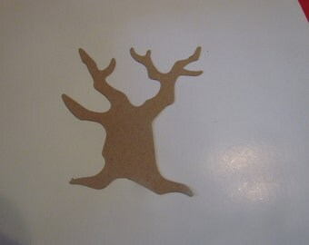 bare tree die cuts