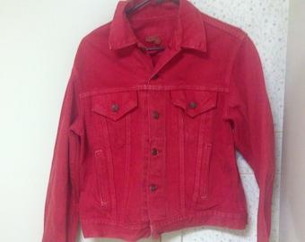 Levi's Vintage Jean Jacket Red