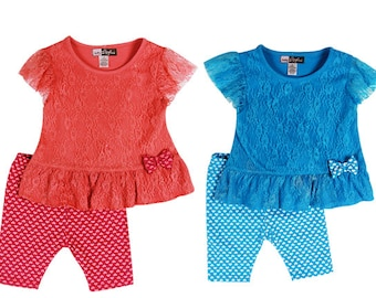 2879- 2PC INFANT lace set