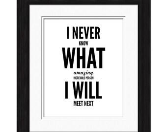 I Never Affirmation
