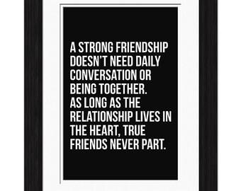 True Friends Affirmation
