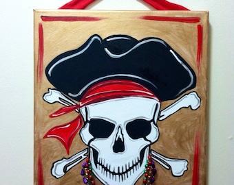Gasparilla Pirate Canvas