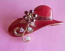 Popular items for red hat society on etsy for Red hat bling jewelry