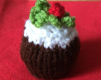 Christmas Pudding Knitting Pattern