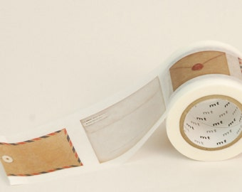MT Washi Tape - Single Roll Extra Wide ENVELOPES