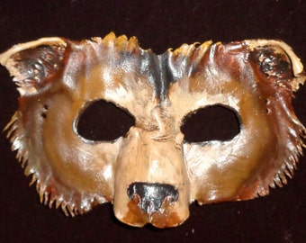 Leather Bear Mask