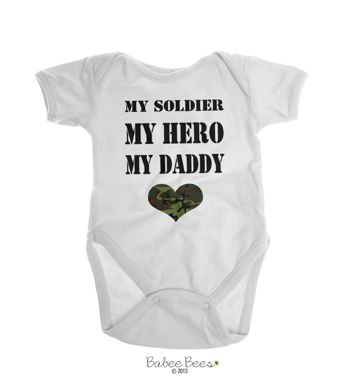 Army Baby Clothes Boy Girl