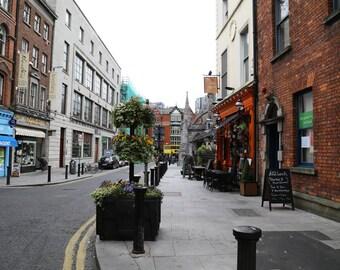 Dublin Photography, Ireland Art Print, Irish Street Art, Dublin Streets, Irish Architecture, City Art, European streets - Morning news
