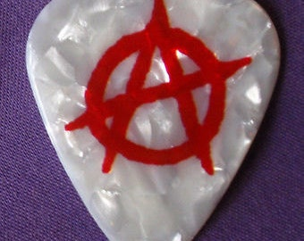 Anarchy Guitar Pick