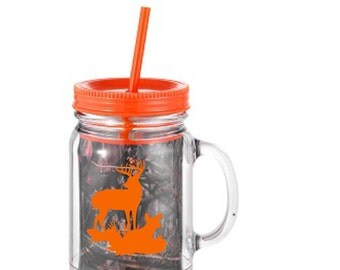 Personalized Mossy Oak Mason Jar - ON SALE!