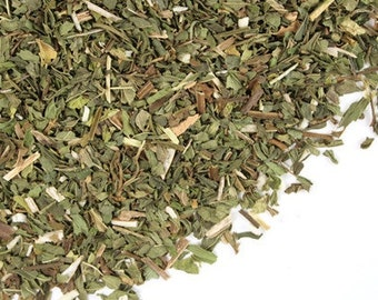 SPEARMINT DRIED - 1 LB.  Whole Cut and Sifted Organic Herb Dried Herbal Tea