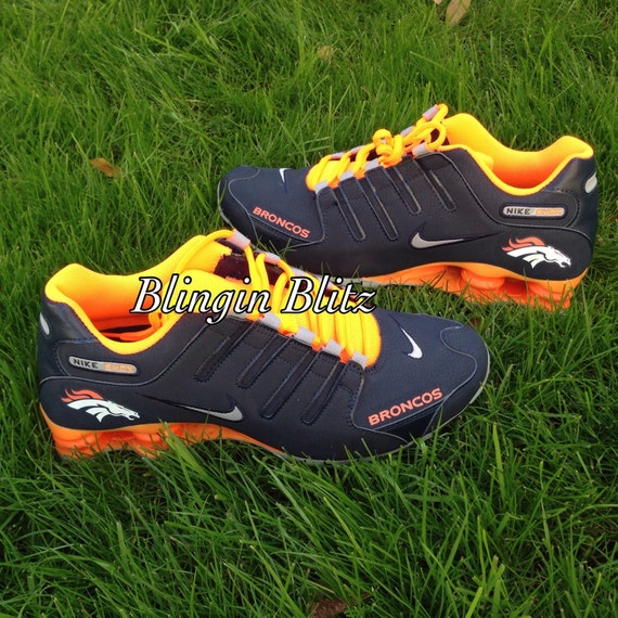 New denver broncos nike shox shoes  supplier